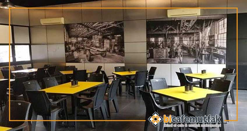 2 El Restaurant Masa Sandalye