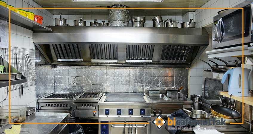 ikinci el endüstriyel mutfak malzemeleri