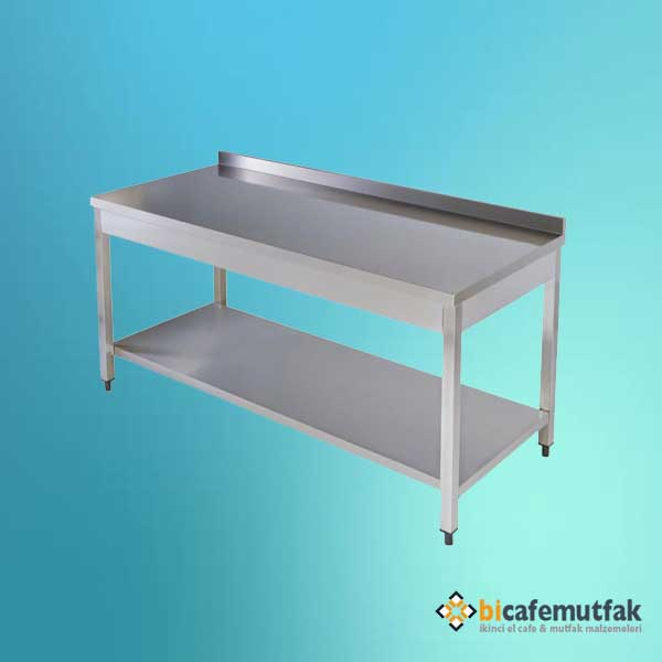 İkinci El 115x60 Endüstriyel Mutfak Tezgahı