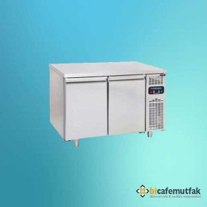 Tezgah tipi iki kapılı buzdolab